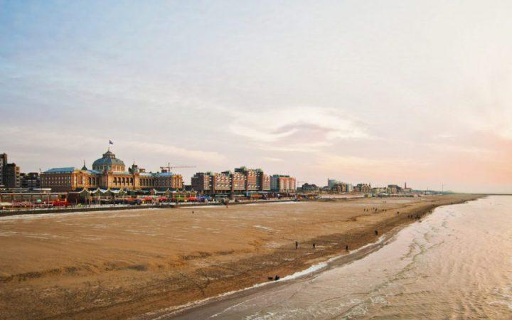 den Haag beach, the Netherlands