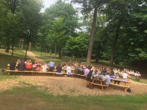 Weg uit je zakelijke omgeving: vergaderen in het bos!