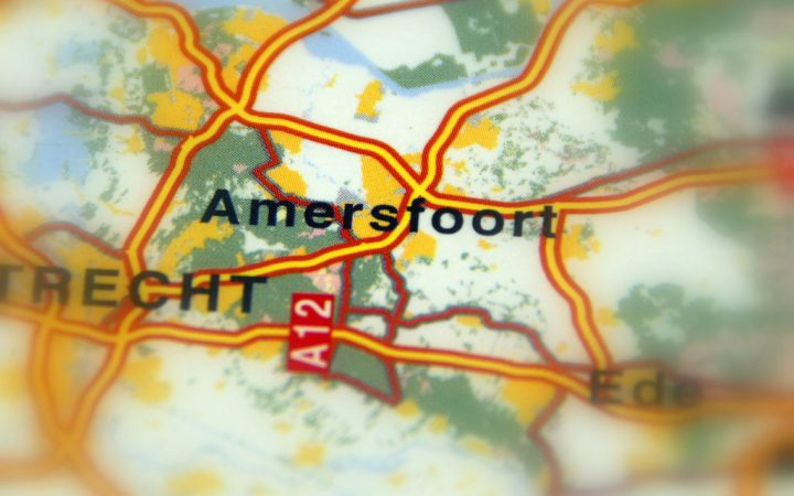 Amersfoort, a city of the province of Utrecht in central Netherlands, Europe.