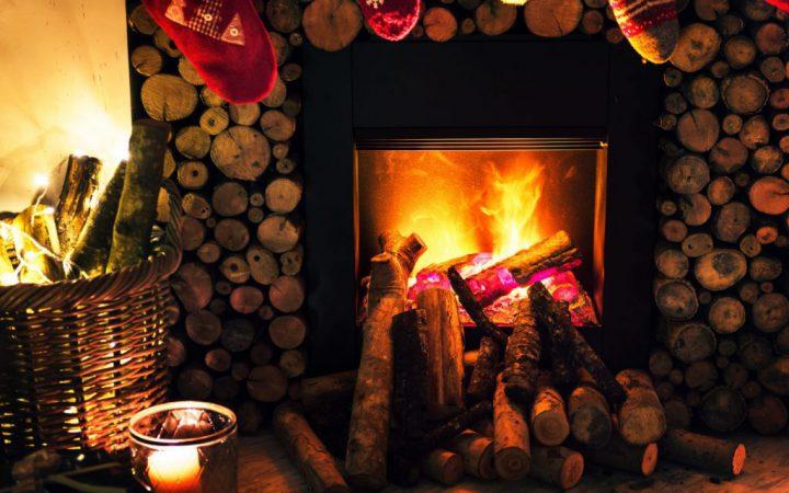 open-haard-kerst
