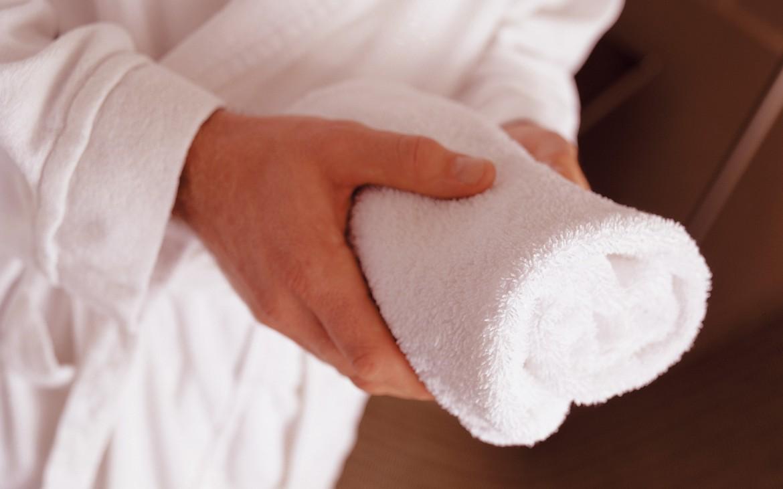 wellness handdoek