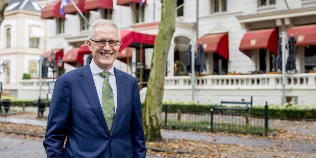 Frans Th. Wientjes junior voor Grand Hotel Wientjes